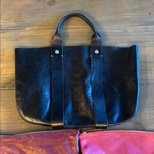 2 clutches & 1 shoulder bad by Clare Vivier